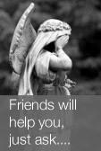 Friends will help